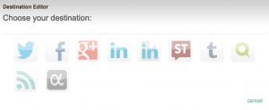 dlvr.itで自動投稿できるソーシャルメディアの一覧